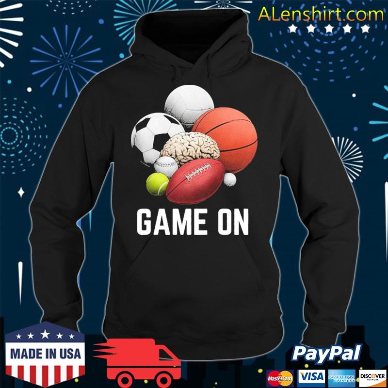 Game On I Play to Win s Hoodie