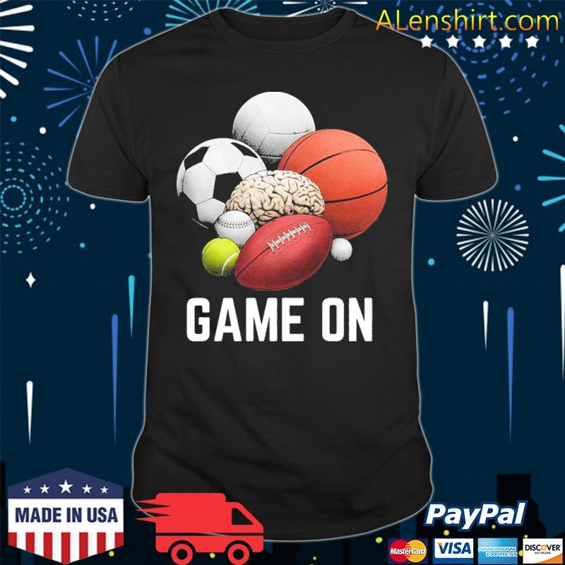 Game On I Play to Win shirt