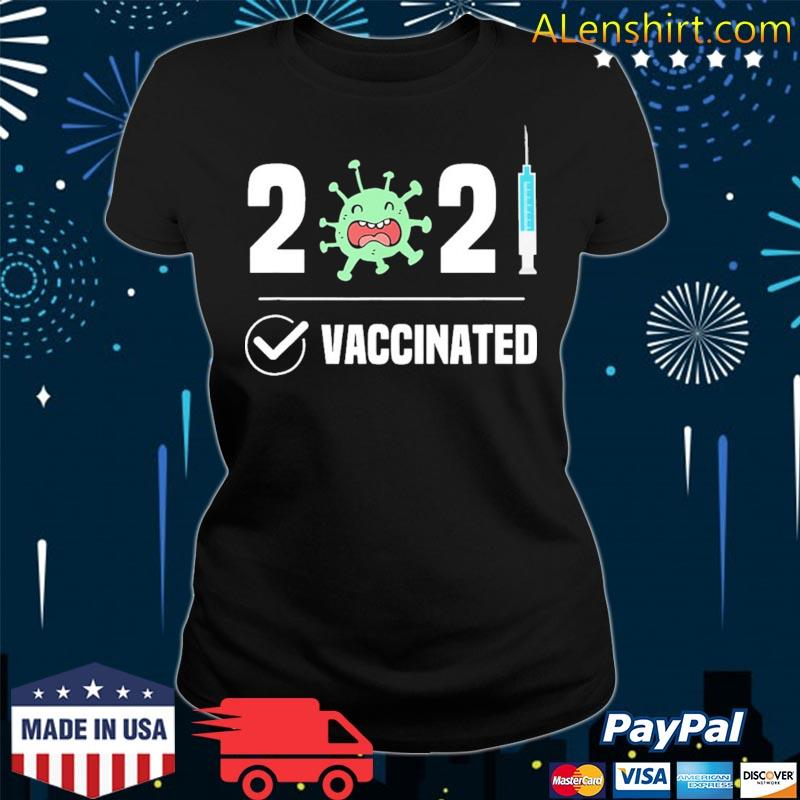 Get Vaccinated 2021 Covid 19 s v-neck