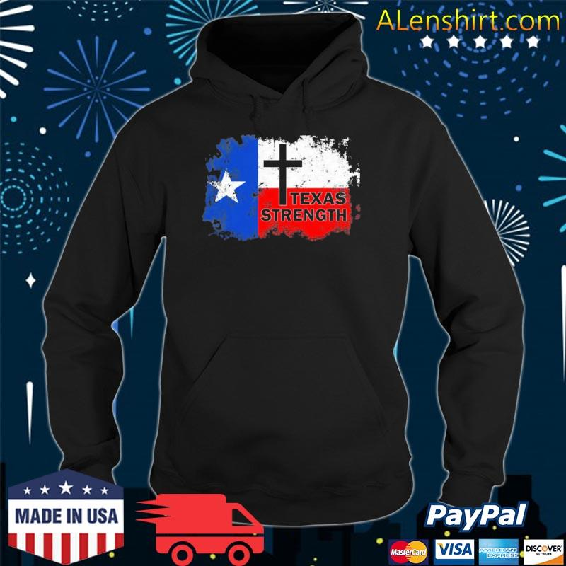 Texas Strength Shooting T-Shirt hoodie