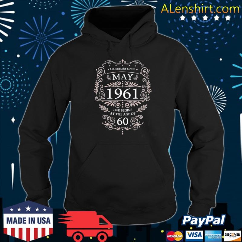 60th birthday may 1961 ideas s Hoodie