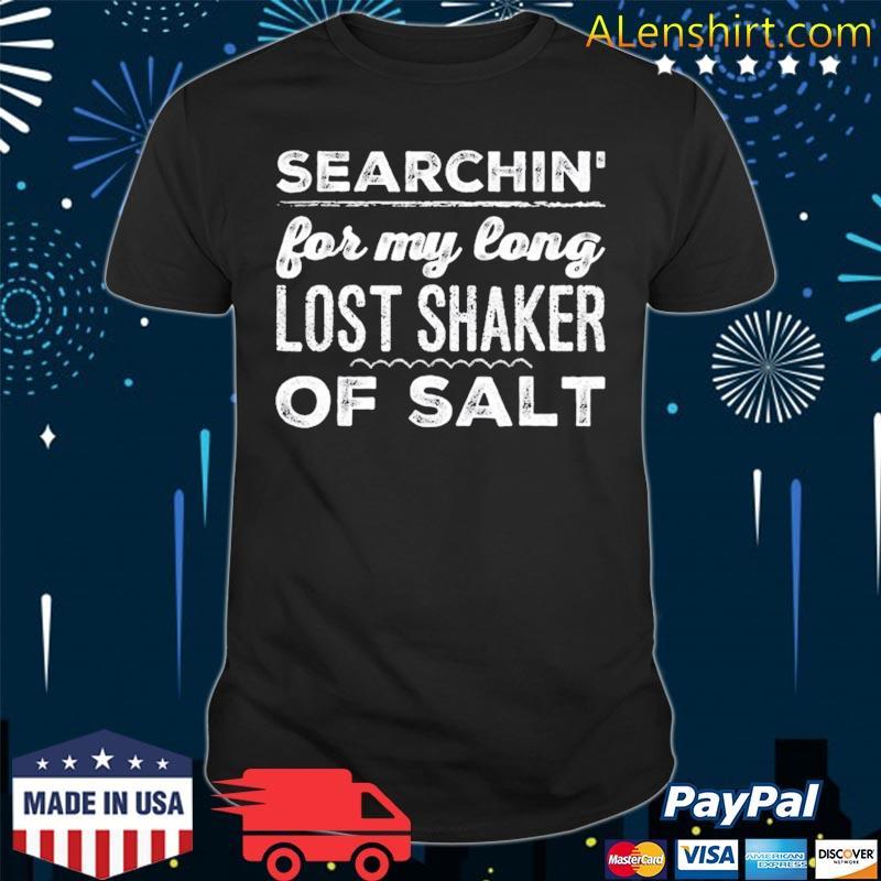 70s band long lost shaker of salt shirt