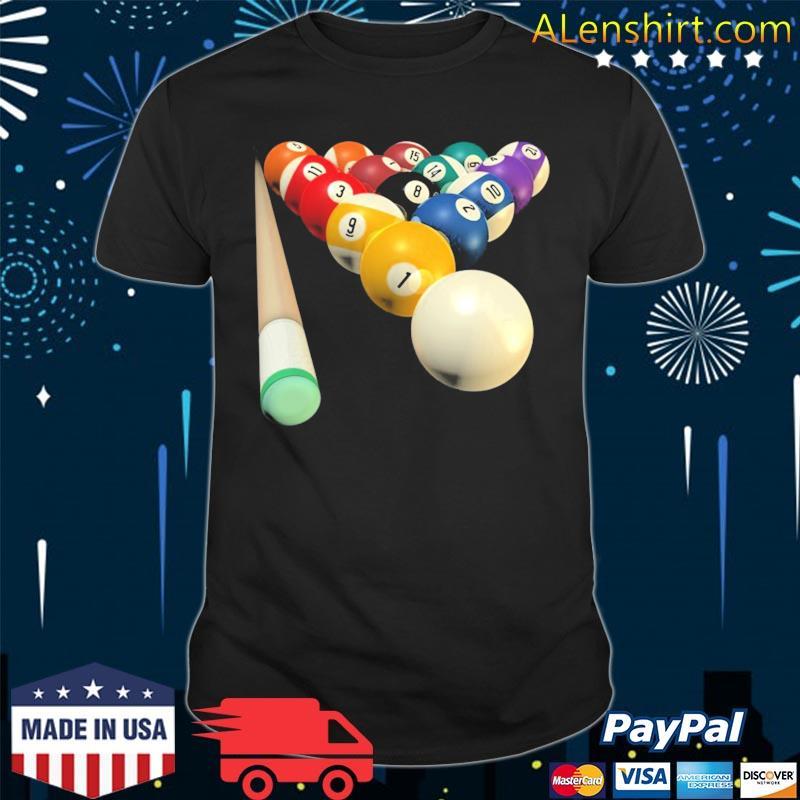 8ball pool team for bar league shirt