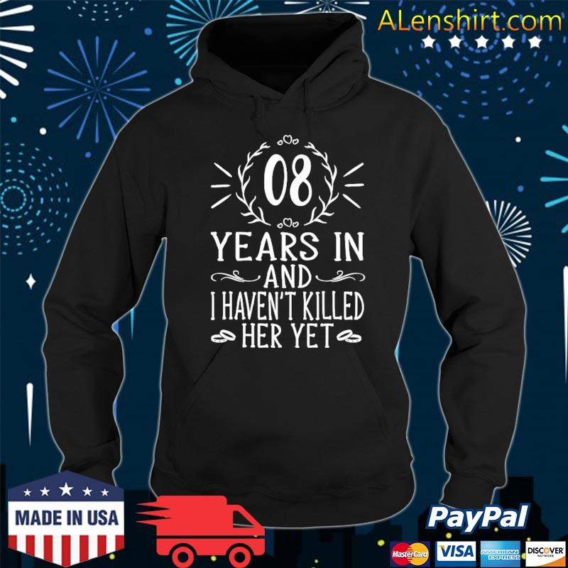 8th wedding anniversary gifts for him 8 years marriage s Hoodie