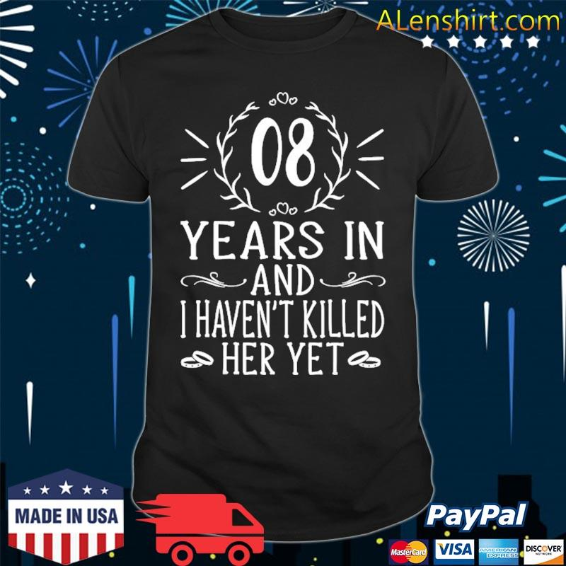 8th wedding anniversary gifts for him 8 years marriage shirt