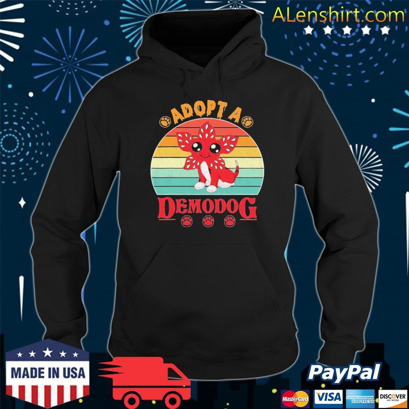 Adopt a demodog funny dog lovers for men women kids s Hoodie