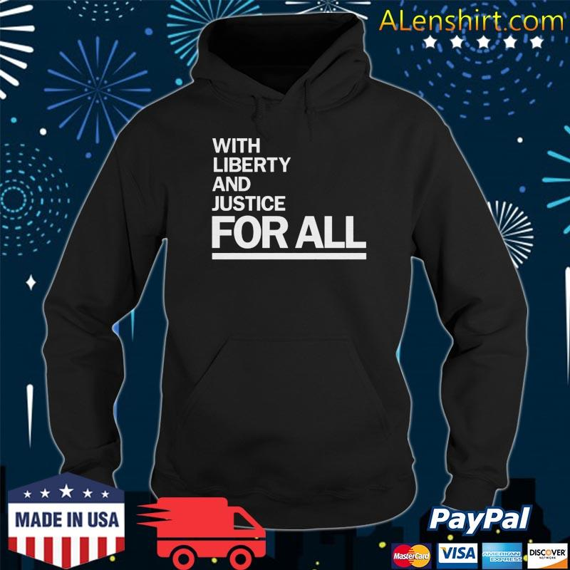 Official America With Liberty and Justice for all-Wright- t-s Hoodie
