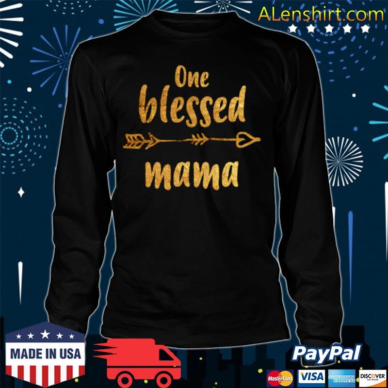 Wife Blessed Mama Pregnant Grandma Mother/'s Day Hoodie Shirt Gift Women Cute Mama Strong Single Tank Top Mom