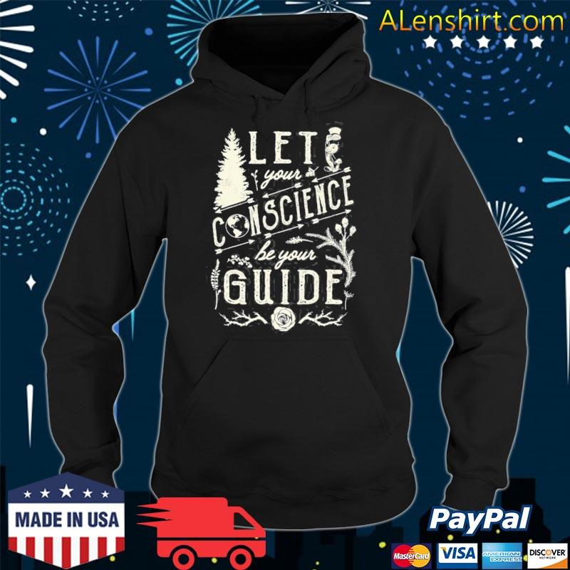 Pinocchio let your conscience be your guide s hoodie