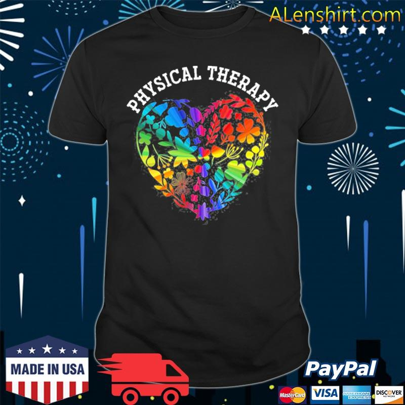 Pta love physical therapy shirt