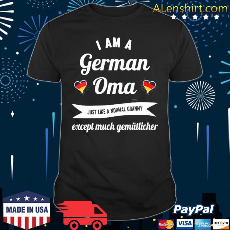The best german grandma great oma shirt