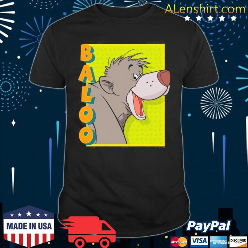 The jungle book baloo shirt