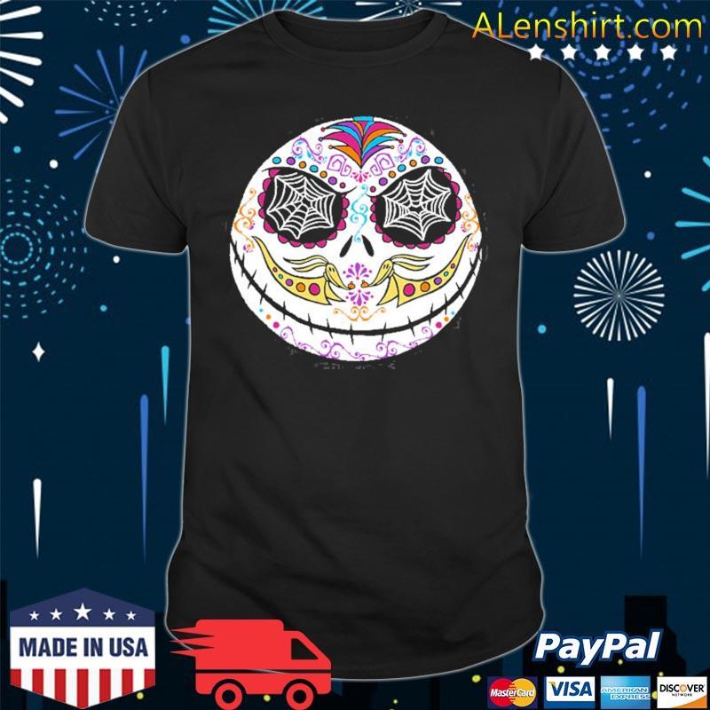 The nightmare before christmas Jack sugar skull shirt