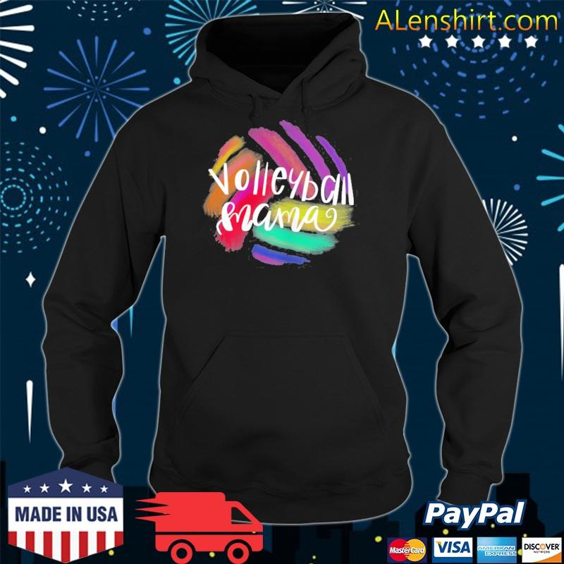 Volleyball mama female sporty mother gift volleyball mom s hoodie