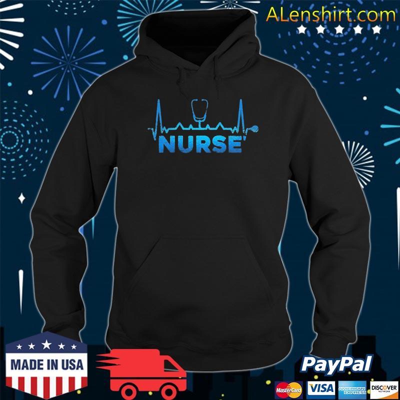 Heartbeat Nurse Shirt Hoodie