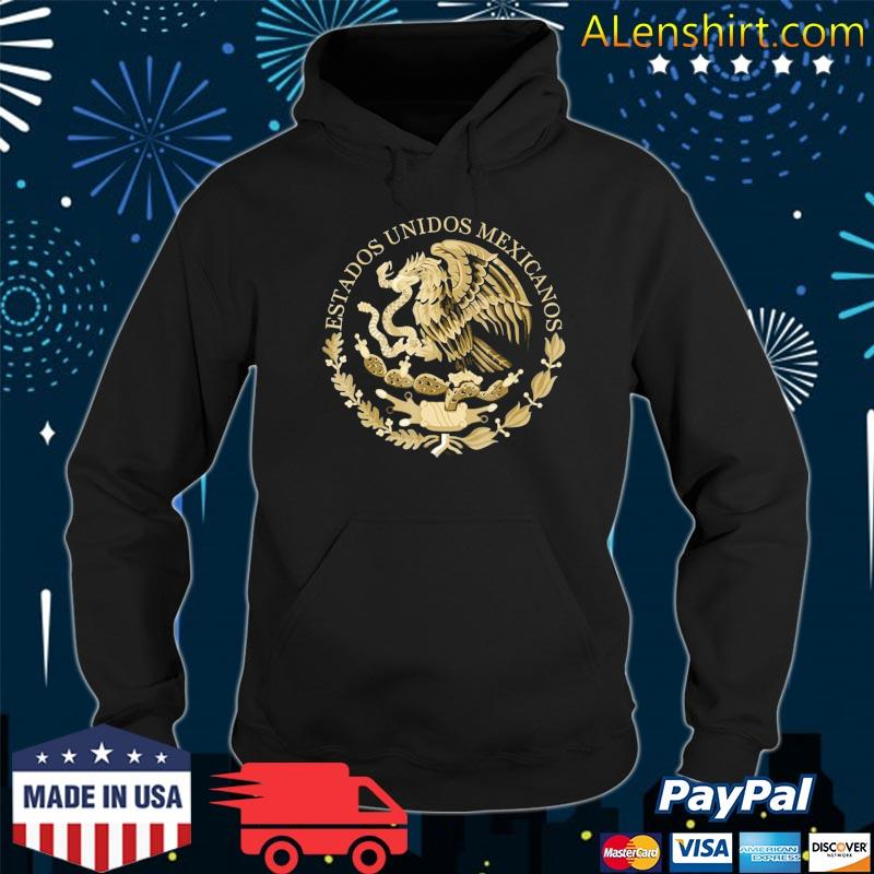 Mexico Coat Of Arms Flag Seal – Alt Tee Color Option Shirt Hoodie