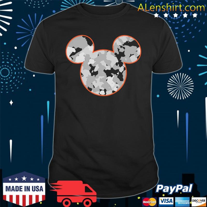 Mickey Mouse Camouflage Shirt