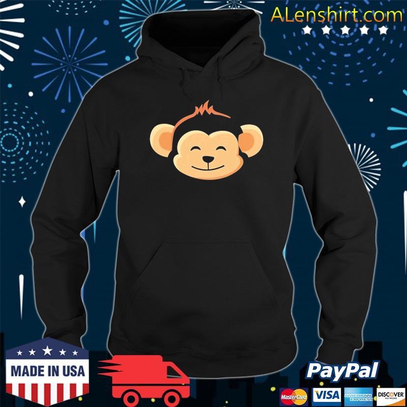 Monkey Costume For Kids Monkey Shirt Hoodie