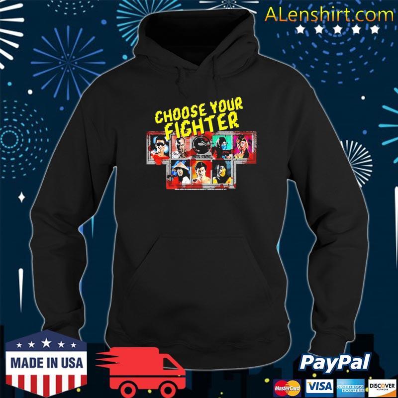 Mortal Kombat Klassic Choose Your Fighter Shirt Hoodie