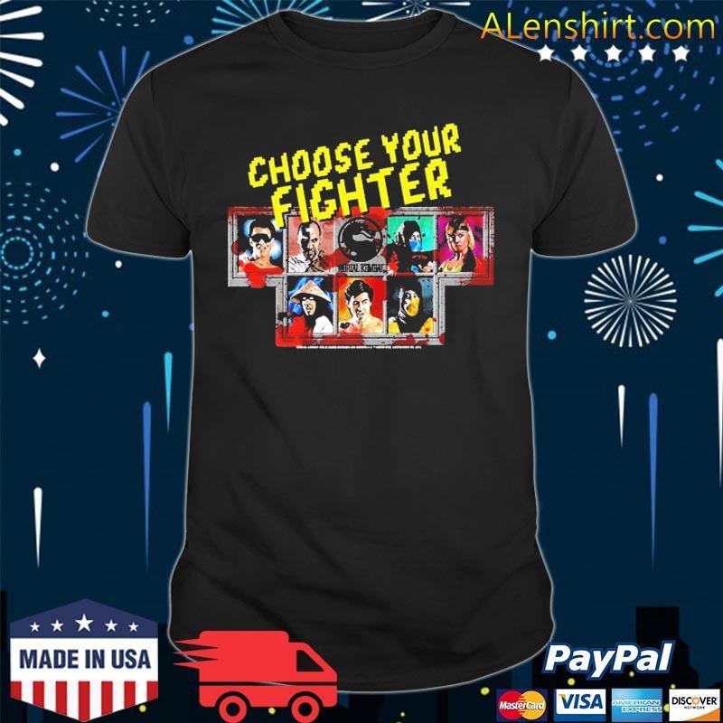 Mortal Kombat Klassic Choose Your Fighter Shirt