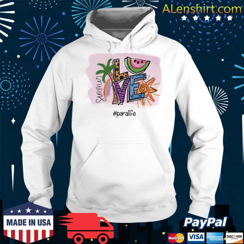 Official summer love #para life s Hoodie