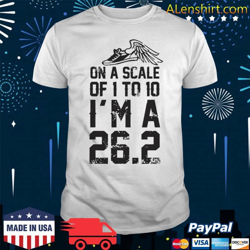 On A Scale Of 1 To 10 Cross Country Marathon Runner Gift Shirt