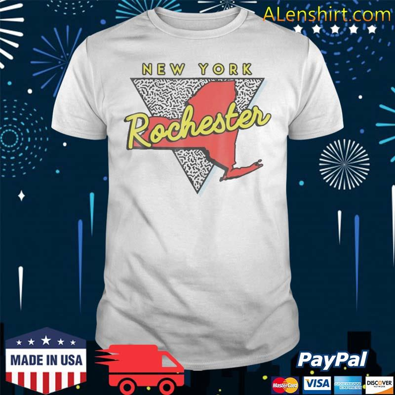 Rochester New York Vintage Triangle Shirt