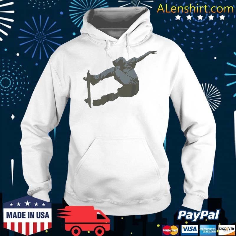 Skateboard Skate Outdoor Activity Shirt Hoodie