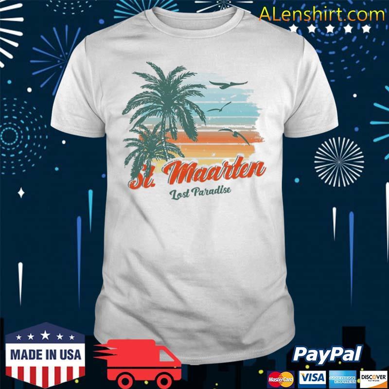 St. Maarten Beach Shirt Lost Paradise Shirt