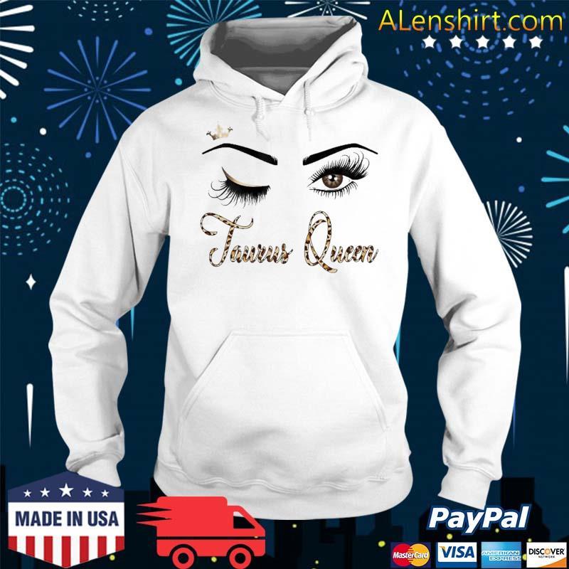 Taurus Zodiac Birthday Leopard Print For Girls Shirt Hoodie