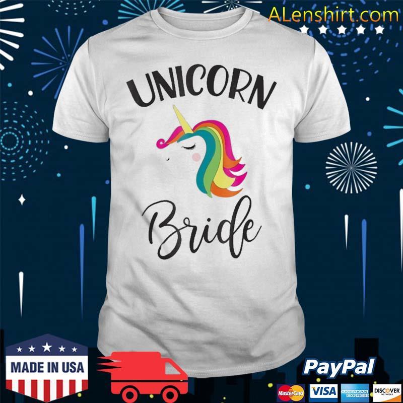 Unicorn Bride Bachelorette Shower Matching Group Set Shirt