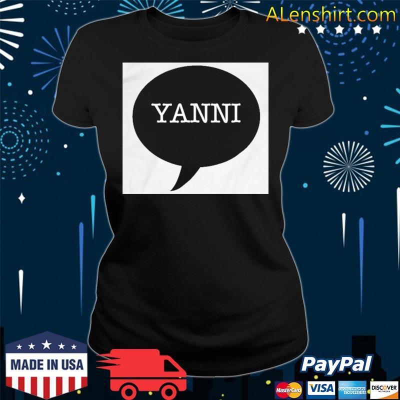 Yanni Or Laurel Trending Shirt v-neck