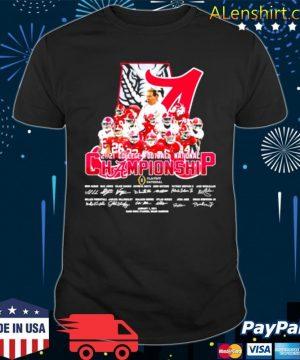 Alabama Cfp National Champions 2021 Signature Team Football shirt