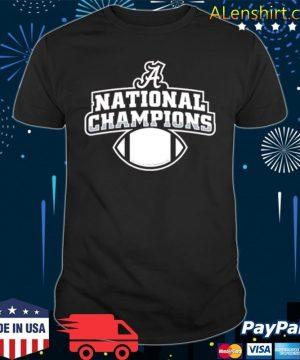 Alabama football diy national champion shirt