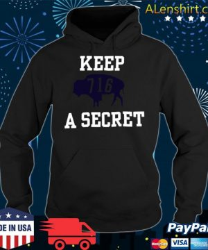 Buffalo Bills 716 Keep A Secret 2021 s Hoodie
