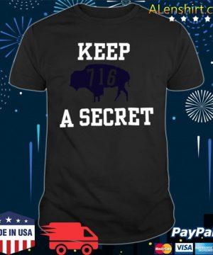 Buffalo Bills 716 Keep A Secret 2021 shirt