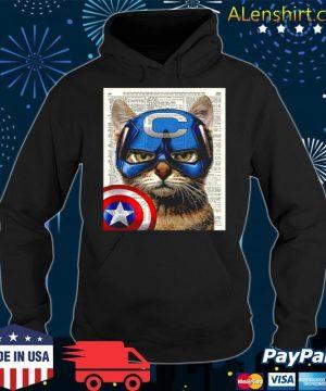 Cat Captain America s Hoodie