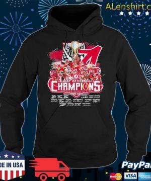 Cfp National Champions 2021 Alabama Team Hoodie