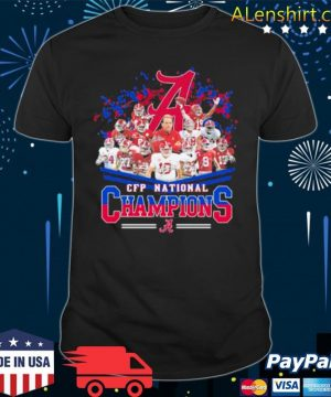 Cfp National Champions Alabama Crimson Tide Football shirt