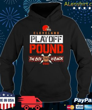 Cleveland Playoff Poud The Bite Is Back Dog 2021 s Hoodie