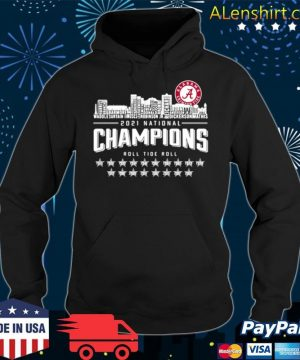 Crimson Tide 2021 national Champions roll Tide roll 1935 2021 s Hoodie