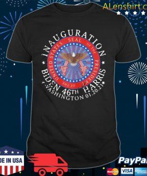 Inauguration Biden 46th Harris Washington 01 20 2021 shirt