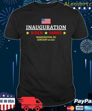 Inauguration Biden Harris Washington Dc january 20 2021 American flag shirt
