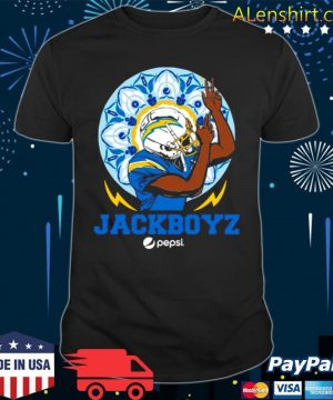 Jackboys Pepsi Los Angeles Chargers shirt