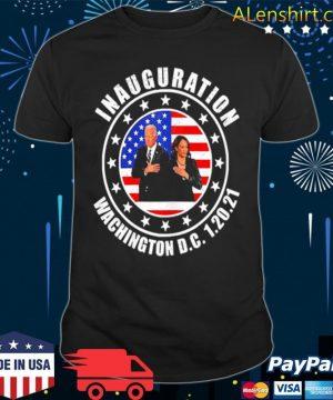Joe biden 46th inauguration day 1 20 2021 kamala harris vp shirt